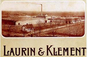 Завод Laurin&Klement в восточной Европе в конце 19 века.