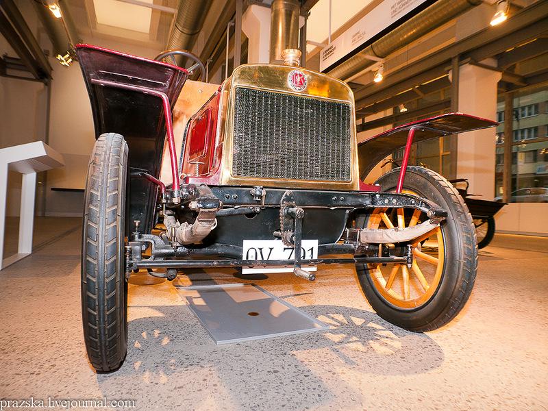 Автомобиль  L&K Voiturette, 1906