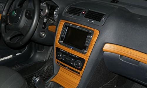 Skoda Octavia: внутренний тюнинг моделей А5